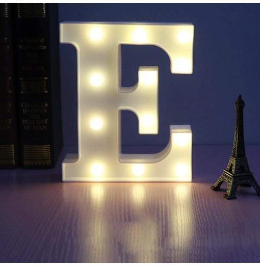 LED Light 26 Letters Festival Lovely Decoration Multi-Function Light