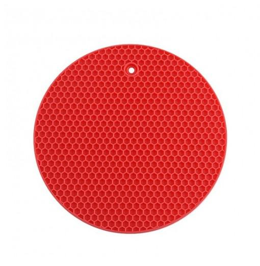 Round Heat Resistant Silicone Mat Drink Cup Coasters Non-slip Table Placemat