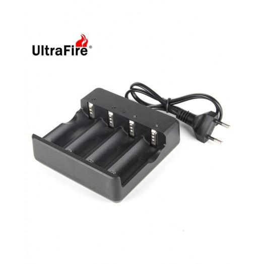 UltraFire MD-404A 26650 Battery 4-Slot Charger AC 100 - 240V