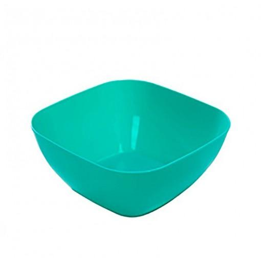 DIHE Plastic Square Snack Bowls Durable Various Styles