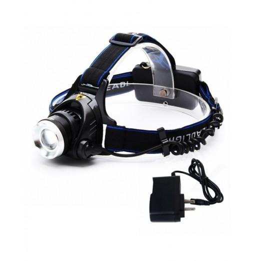 ZHISHUNJIA XQ19-T6 900lm 3-Mode Zooming Headlamp Telescopic Head Light