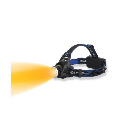 UltraFire UF-289 XML-T6 680LM Yellow 3-Speed Zoom Headlamp