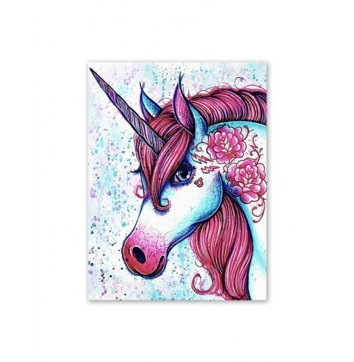 W358 Unicorn Unframed Art Wall Canvas Prints for Home Decorations