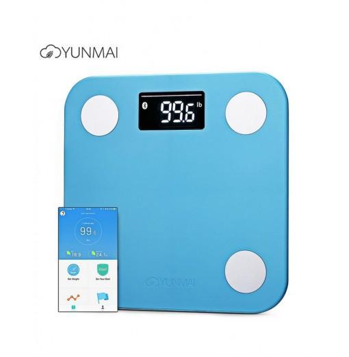 YUNMAI Mini 1501 Smart Fat Scales Bluetooth 4.0 APP Control BMI Data Analysis Weighing Tool