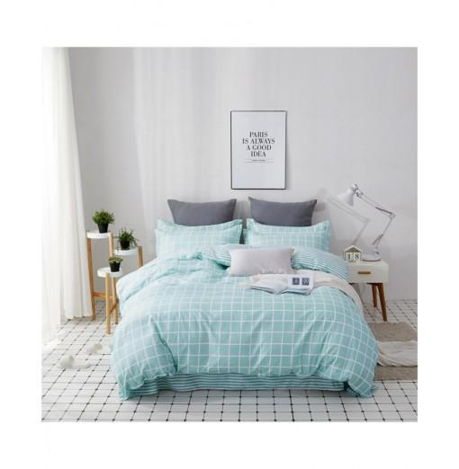 OMONNES Four Sets of Fresh and Simple Sheets on The Bed Are Adolescent