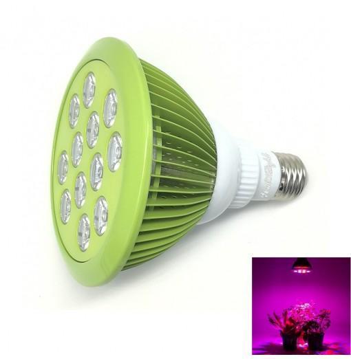 Youoklight 1PCS E27 24W Ac 85~265V 12 - Led Plant Grow Light - Mint Green