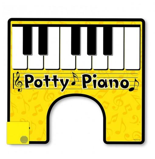 Potty Piano Hilarious Toilet Fun Song Book Included for Your Potty Party