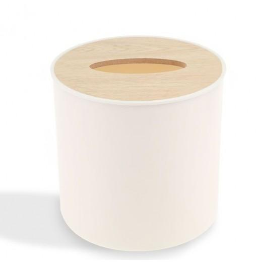 Bamboo Tissue Box Cover Holder
