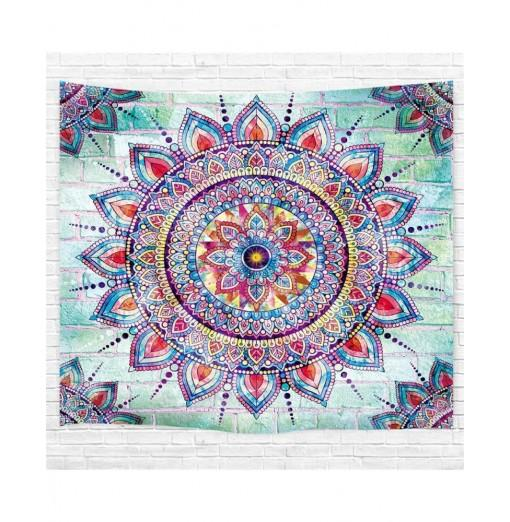 Web Celebrity Mandala 3D Printing Home Wall Hanging Tapestry for Decoration