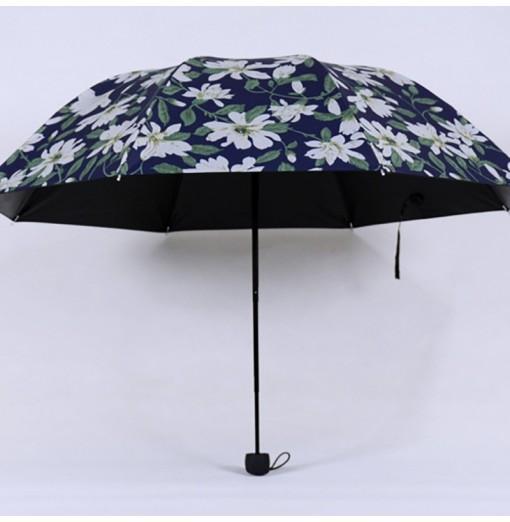 DIHE Sunshade Rippled Edge Ultraviolet-Proof Heat Protection Umbrella
