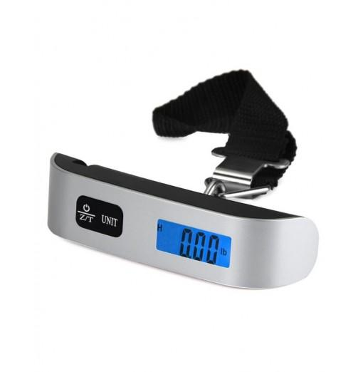 Hostweigh NS-14 LCD Electronic Scale 50kg Capacity Hand Carry Luggage Digital Weighing Device Thermometer