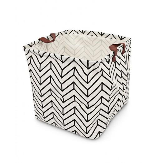 Print Foldable Clothing Toys Storage Basket Laundry Hamper
