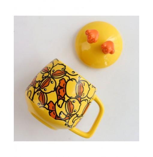 Lovely 3D Duck-Feet Cup Coffee Mug Cute Cartoon Ceramics Cup