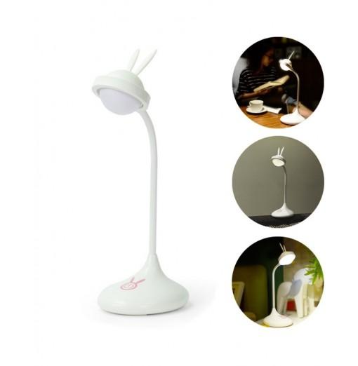 YouOKLight 1W 5V USB Rabbit Dimmable Protect Eyesight Study Reading Touch Control Led Desk Lamps 360 Degree Adjustment