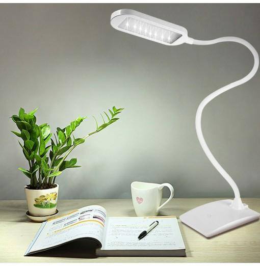FX-002 Touch Control 5W 5500 - 6500K LED Rechargeable Light for Laptop Desktop