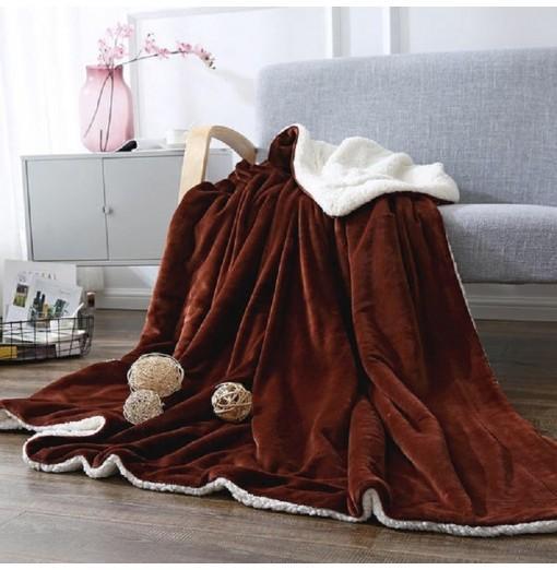 High Level Berber Fleece Blanket