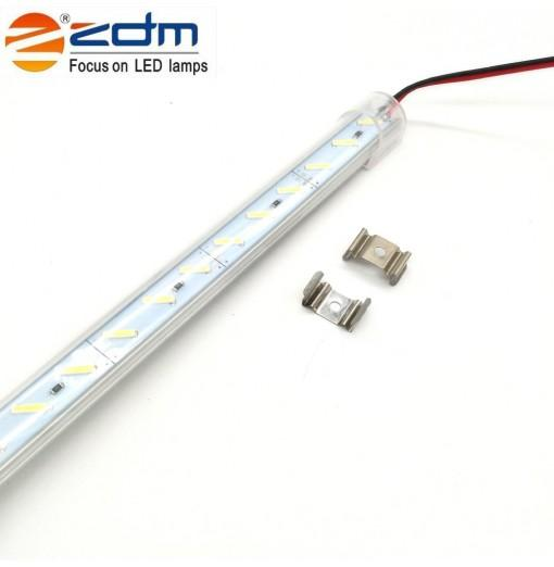 Zdm 100CM 18W 72PCS 8520 Smd 1200-1320lm Warm White / Cool White Light Led Strip Lamp (Dc12v / Dc24v)