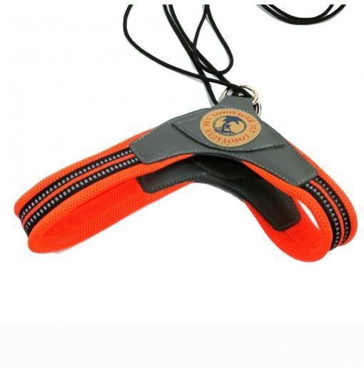 Lovoyager LVH16003 Soft Reflective Pet Dog Harness Dog Walk Collar Leashes Cat Safety Strap Vest
