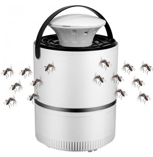 Smart USB Mosquito Killer Silent Lamp Trap Repeller Bug Insect Repellent for Household Car