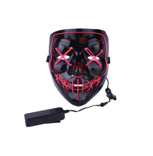 Halloween Mask LED Light Up Funny Mask