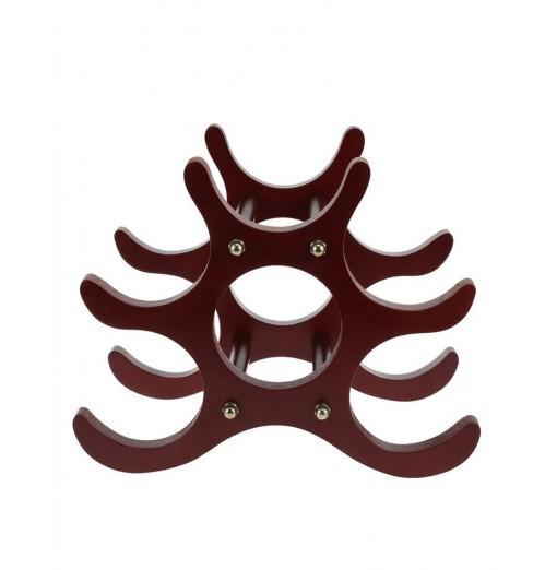 Fashion Creative Home Decor Wood Style Wine Rack