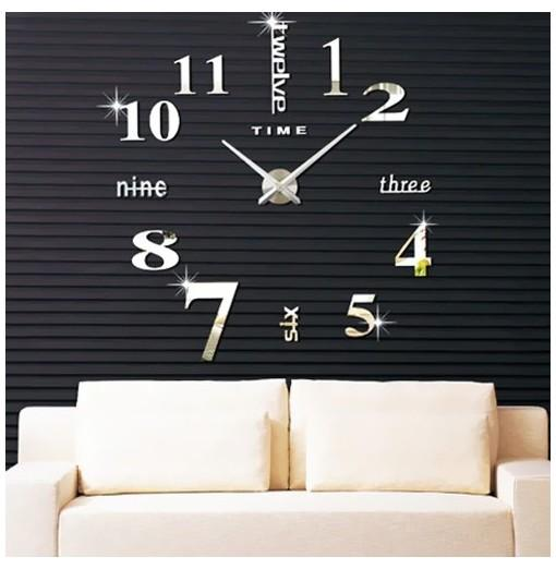 Creative DIY Personality Home 3D Wall Clock