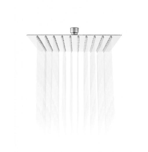 8 inch High Pressure Ultra Thin 201 Stainless Steel Square Rain Shower Head