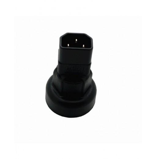 PDU Room IEC320-C14 Switch to National Standard Australian Female Power Adapter Head
