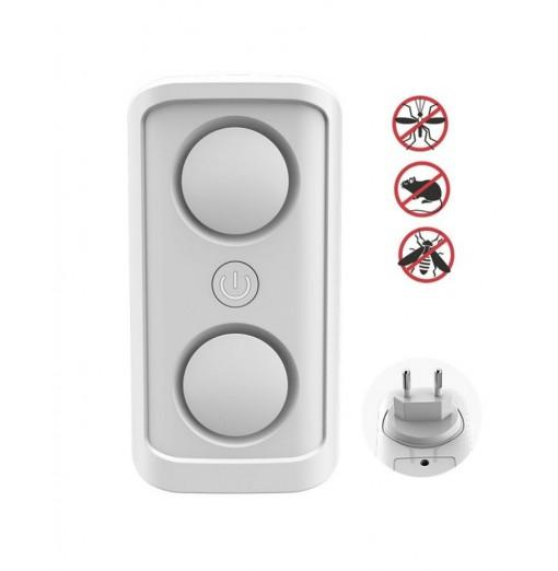 Ultrasonic Mosquito Repellent High Power Double Horn Pest Mouse Rejector
