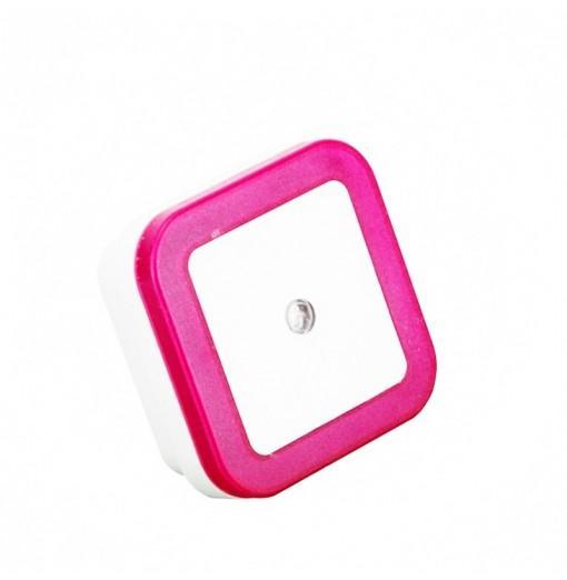 Mini LED 0.5W Control Auto Sensor Baby Bedroom Lamp Square Night Light