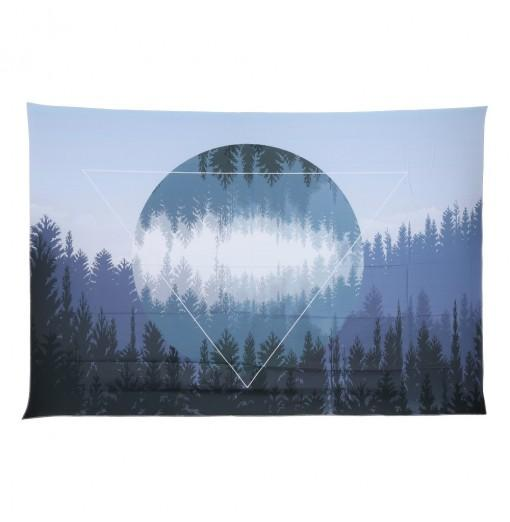 Forest Starry Wall Hanging 3D Printing Tapestry