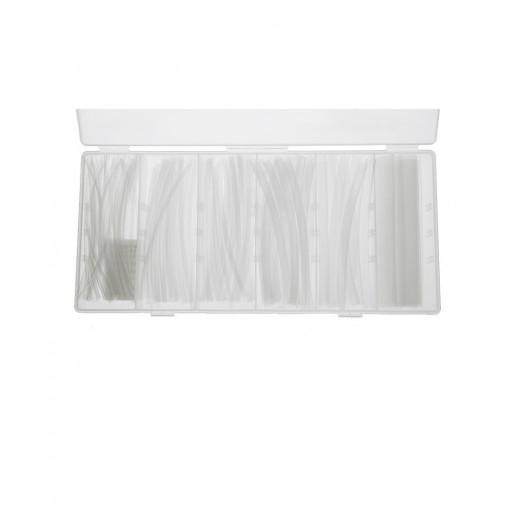 Transparent Heat Shrink Tubing with Storage Box 150pcs