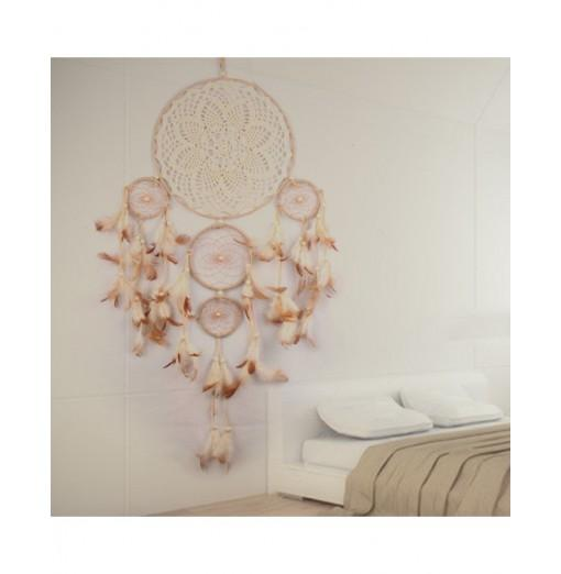 Handmade Dream Catcher Hanging Wind Chimes Feather Pendant