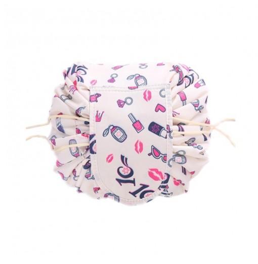 Multi-Purpose Portable Travel Large Capacity Lazy Drawstring Makeup Storage Bag