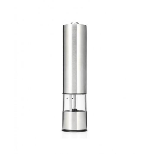 Electric Pepper Mill Portable Species Salt Grinder Battery Acrylic Stainless Steel