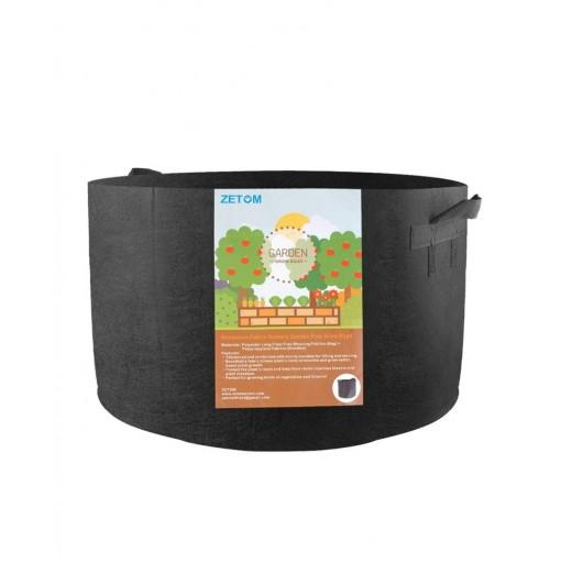 ZETOM Grow Bags 20 Gallon Thickened Nonwoven Fabric Pots Nursery Garden Pots with Handles Plant Container
