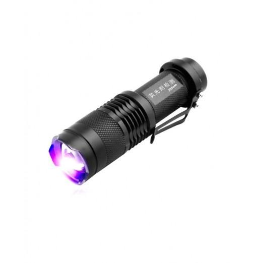 ZHISHUNJIA 1-Mode 395nm UV Fluorescent Agent Identification Flashlight