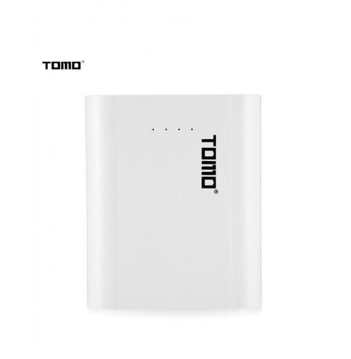 TOMO P4 Power Bank Dual USB Charger Case for 18650 Li-ion Battery