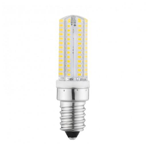 OMTO G4 G9 E14 SMD 3014 Silicone LED Lamp 104Led 220V Bi-pin Light