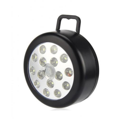 PIR Infrared 15 LED Auto Motion Sensor Detector Wireless Night Light Lamp