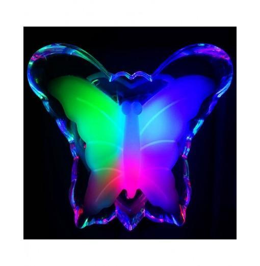 Energy-Saving Night Light Romantic Butterfly Lamp Socket Light
