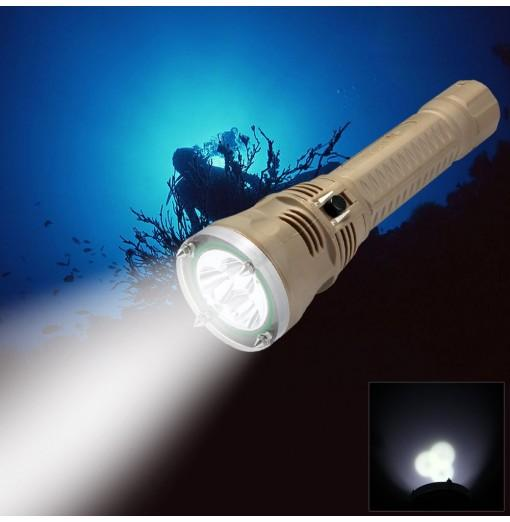 TrustFire TR - DF002 CREE XM-L1 1500lm IPX8 100m Underwater LED Diving Flashlight