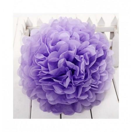 Colorful DIY 8 inch Tissue Paper Artificial Flower Ball Wedding Decoration Artifact