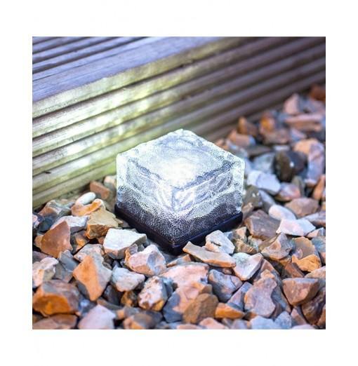Solar Power LED Light Outdoor Waterproof Brick Lamp