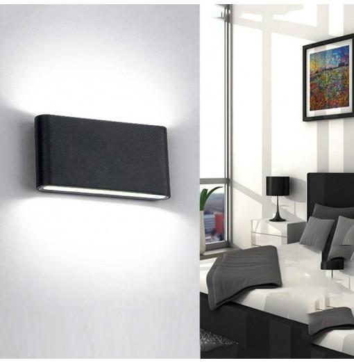 12W Outdoor Waterproof Wall Lamp Indoor Decoration Sconce Bedroom Beside Corridor Garden Lighting Light