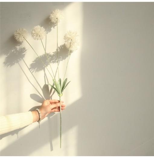 Home Decorations DIY Bridal Bouquet Vivid Dandelion Artificial Flowers