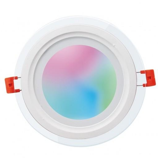 One - Z WZ - SLTW30 - 18W - 001 Bluetooth Control Smart Downlight 18W RGB 2700 - 6500K AC100 - 240V Glass Mask