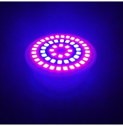 BRELONG E27 E14 GU10 MR16 54LED 2835 Plant Cup Light AC 110-130V 2pcs
