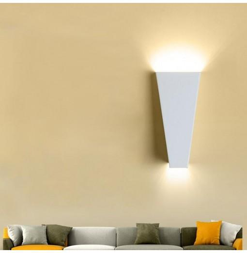 Modern Metal LED Bedside Wall Lamp Hallway Bathroom Wall Lamps Fixture Decorative Night Light For Pathway Bedroom