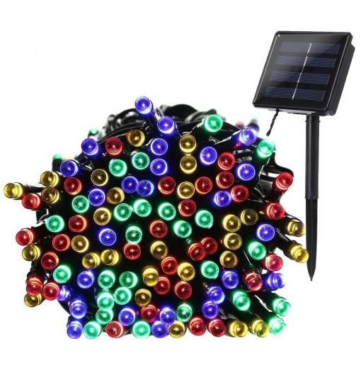 KWB LED Solar String Lights 12M 100balls Christmas New Year Lamps White / Warm White / Blue / Red / RGB